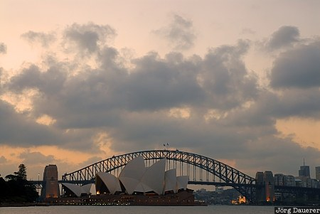 New South Wales, Australia, Sydney, artificial light, sky, clouds, opera house
