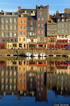 Basse-Normandie, FRA, France, Honfleur, buildings, harbor, houses