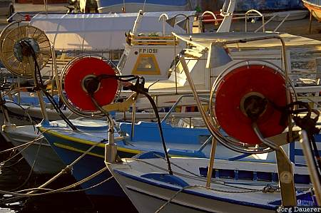 paphos, fisher boats, harbor, cyprus, mediterranean sea, harbour, Hafen