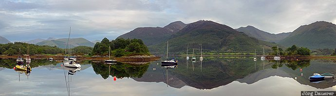 Loch Leven, Highlands, Scotland, United Kingdom